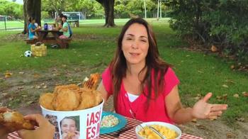 KFC 10-Piece Meal TV Spot, 'Picnic' [Spanish] - Thumbnail 5