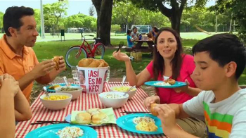 KFC 10-Piece Meal TV Spot, 'Picnic' [Spanish] - Thumbnail 8