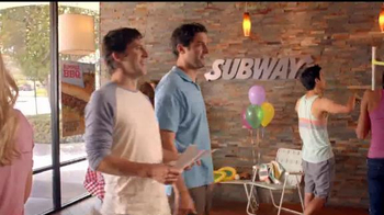 Subway Applewood Pulled Pork TV Spot, 'It's A Summer BBQ' - Thumbnail 4