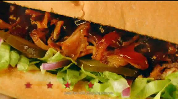 Subway Applewood Pulled Pork TV Spot, 'It's A Summer BBQ' - Thumbnail 6