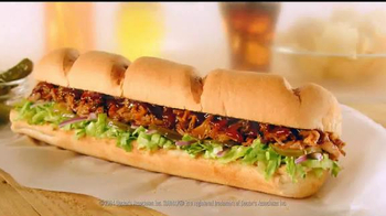 Subway Applewood Pulled Pork TV Spot, 'It's A Summer BBQ' - Thumbnail 8