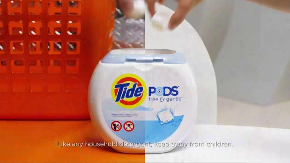 tide pods free and gentle tv commercial gentle ispot tv