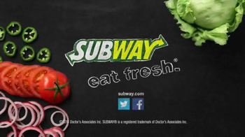 Subway Spicy Italian TV Spot, '$3 Six-Inch Select' - Thumbnail 6