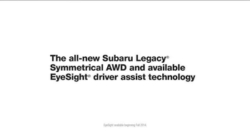 Subaru Legacy TV Spot, 'World of Passengers' - Thumbnail 8
