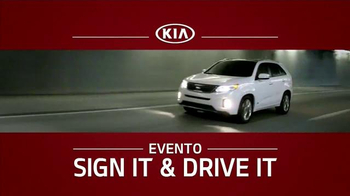 Kia Evento Sign It and Drive It TV Spot [Spanish] - 300 commercial airings