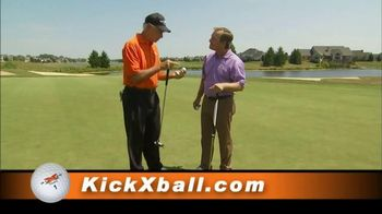 Kick X Tour-Z Golf Balls TV Spot Featuring Bruce Fleisher