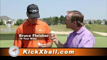 Kick X Tour-Z Golf Balls TV Spot Featuring Bruce Fleisher - Thumbnail 2