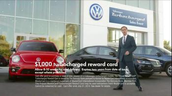 Volkswagen Turbocharged Sales Event TV Spot - Thumbnail 1