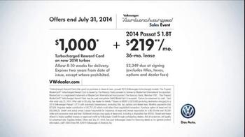 Volkswagen Turbocharged Sales Event TV Spot - Thumbnail 9