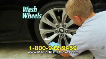 Magic Bristle Gloves TV Spot thumbnail