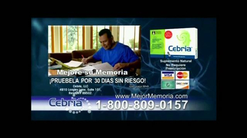 Cebria TV Spot [Spanish] - Thumbnail 10