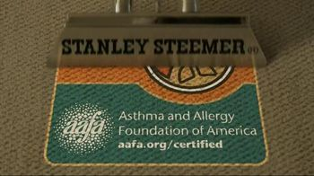 Stanley Steemer TV Spot, 'AAFA Certified'