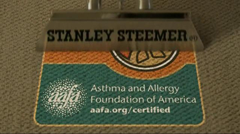 Stanley Steemer TV Spot, 'AAFA Certified' - 21306 commercial airings