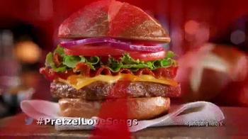 Wendy's Pretzel Bacon Cheeseburger TV Spot, 'All By Myself No More' - Thumbnail 10