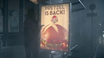 Wendy's Pretzel Bacon Cheeseburger TV Spot, 'All By Myself No More' - 2046 commercial airings