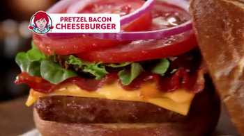 Wendy's Pretzel Bacon Cheeseburger TV Spot, 'All By Myself No More' - Thumbnail 8