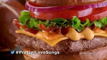 Wendy's Pretzel Bacon Cheeseburger TV Spot, 'All By Myself No More' - Thumbnail 9