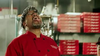 Pizza Hut Cheesy Bites Pizza TV Spot, 'Bites Are Back' - Thumbnail 4