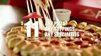 Pizza Hut Cheesy Bites Pizza TV Spot, 'Bites Are Back' - Thumbnail 8