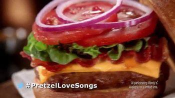 Wendy's Pretzel Bacon Cheeseburger TV Spot, 'All By Myself' - Thumbnail 10