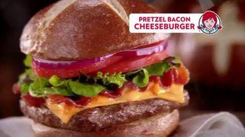 Wendy's Pretzel Bacon Cheeseburger TV Spot, 'All By Myself' - Thumbnail 9