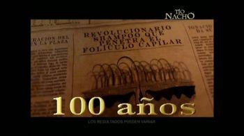 Tío Nacho Antiedad TV Spot, 'Por Más de 100 Años' [Spanish]