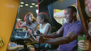 Dave and Buster's Play Five Games Free TV Spot, 'More New' - Thumbnail 3