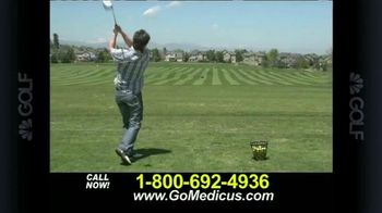 Medicus Dual Hinge Driver TV Spot Featuring Bruce Fleisher