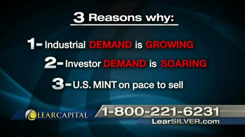Lear Capital TV Spot, 'Free Silver Coins' - Thumbnail 6