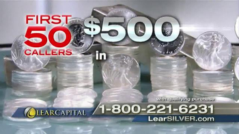 Lear Capital TV Spot, 'Free Silver Coins' - Thumbnail 9