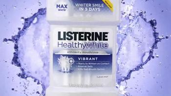 Listerine HealthyWhite TV Spot - Thumbnail 2