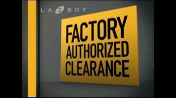 La-Z-Boy Factory Authorized Clearance TV Spot - Thumbnail 2