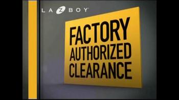 La-Z-Boy Factory Authorized Clearance TV Spot - Thumbnail 3