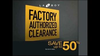 La-Z-Boy Factory Authorized Clearance TV Spot - Thumbnail 8