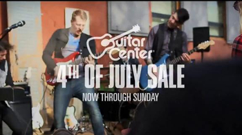 Guitar Center 4th of July Sale TV Spot - Thumbnail 1