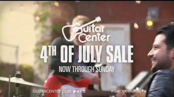 Guitar Center 4th of July Sale TV Spot - Thumbnail 10