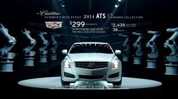 Cadillac Summer's Best Event TV Spot, 'Robot Arms' - Thumbnail 7