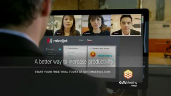 GotoMeeting Citrix TV Spot, 'Move Your Team Forward'