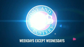 Dave and Buster's Free Video Games Until 3pm TV Spot, 'Kids Rule' - Thumbnail 10