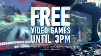 Dave and Buster's Free Video Games Until 3pm TV Spot, 'Kids Rule' - Thumbnail 9