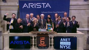 New York Stock Exchange TV Spot, 'Arista Networks' - Thumbnail 5
