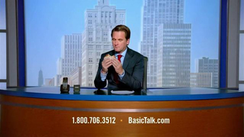 BasicTalk TV Spot, 'News Anchor' - Thumbnail 3