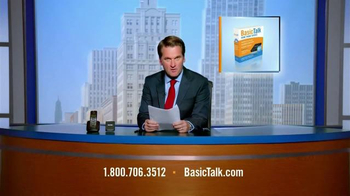 BasicTalk TV Spot, \'News Anchor\'