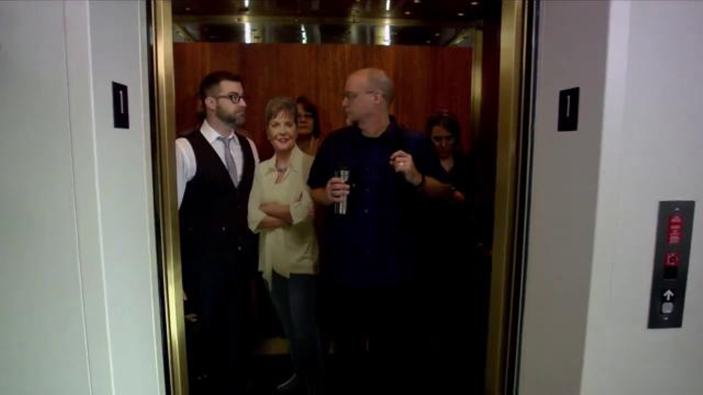 Joyce Meyer Ministries App TV Commercial, 'Elevator'
