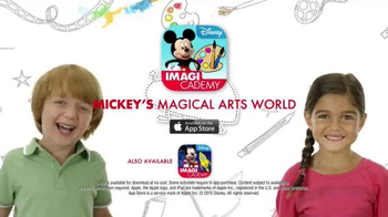 Disney IMAGICADEMY Mickey's Magical Arts World App TV Spot, 'Create' - Thumbnail 10