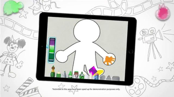 Disney IMAGICADEMY Mickey's Magical Arts World App TV Spot, 'Create' - Thumbnail 3