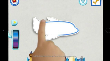 Disney IMAGICADEMY Mickey's Magical Arts World App TV Spot, 'Create' - Thumbnail 8