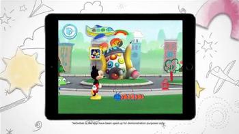 Disney IMAGICADEMY Mickey's Magical Arts World App TV Spot, 'Create' - Thumbnail 9