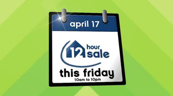 Ashley Furniture Homestore 12 Hour Sale TV Spot, 'Save Big' - Thumbnail 2