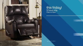 Ashley Furniture Homestore 12 Hour Sale TV Spot, 'Save Big' - Thumbnail 5